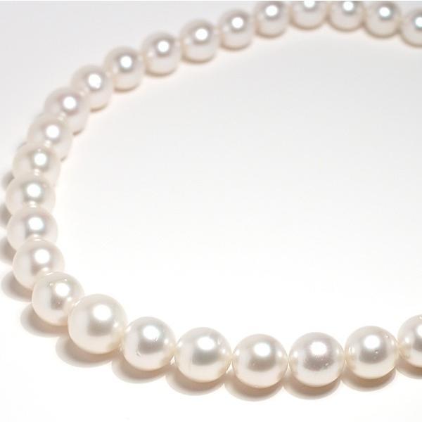 パールネックレス白蝶真珠14-10mm全長44.5cm高機能ケースパールキーパー入り|wizem|02