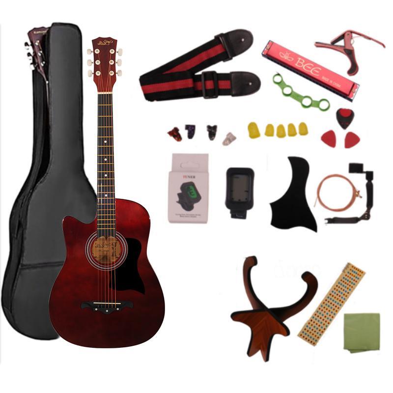 [キャンペーン中]AORTD ギター 入門 おすすめ 初心者  アコギ 16点セット アコースティックギター スタート 大人 自学 学生 子ども プレゼント|wkj-ueno|14