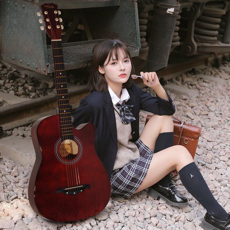 [キャンペーン中]AORTD ギター 入門 おすすめ 初心者  アコギ 16点セット アコースティックギター スタート 大人 自学 学生 子ども プレゼント|wkj-ueno|07