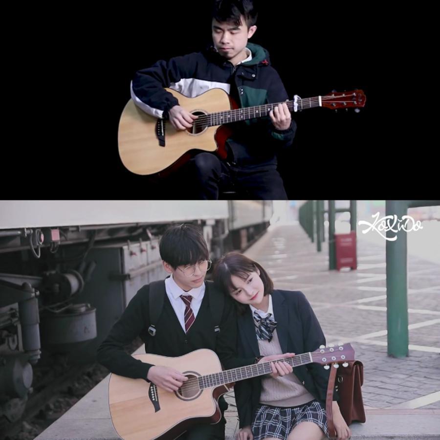 [キャンペーン中]AORTD ギター 入門 おすすめ 初心者  アコギ 16点セット アコースティックギター スタート 大人 自学 学生 子ども プレゼント|wkj-ueno|10