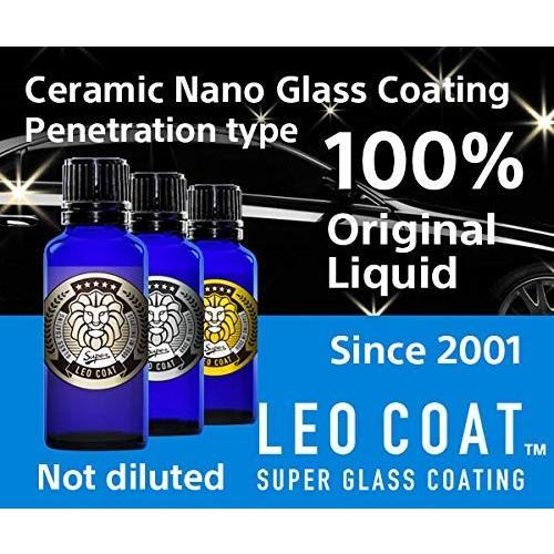 LEO COAT レオコートスーパーガラスコーティングセット 車・バイク用コーティング(ガラス・ポリマー・シャンプー・粘土バフ・クロス) wkwkintl 08