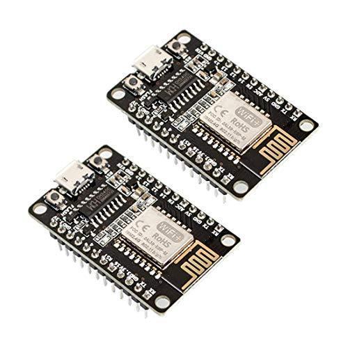 HiLetgo 2個セット ESP8285 ESP-M2 CH340開発ボード WIFIシリアルポートモジュール CH3|wkwkintl
