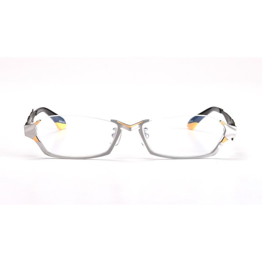 「エヴァンゲリオン」EVA零号機をイメージして制作されたコラボ眼鏡