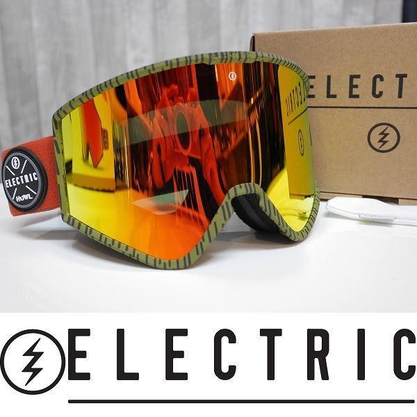 19 ELECTRIC エレクトリック ゴーグル KLEVELAND - HOWL CO-LAB - BROSE/赤 CHROME CONTRAST ジャパンフィット 国内正規品