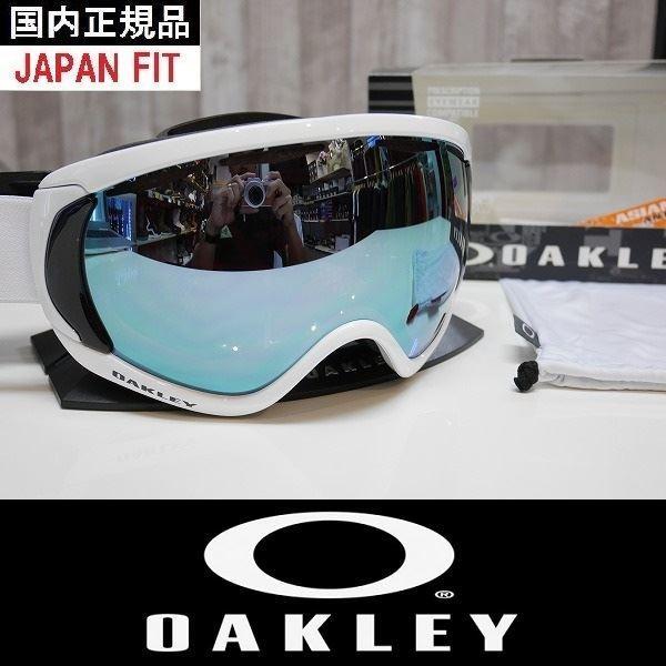 19 OAKLEY オークリー ゴーグル CANOPY - Factory Pilot 白いout - Prizm Sapphire Iridium 国内正規品 アジアンフィット
