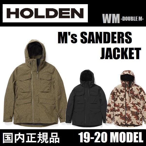 19-20 HOLDEN ウェア M's SANDERS JACKET メンズ 国内正規品