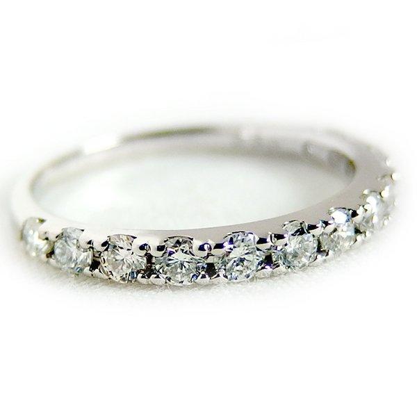 大きい割引 ダイヤモンド リング ハーフエタニティ 0.5ct 12.5号 プラチナ Pt900 ハーフエタニティリング 指輪, ONE'S YOKOHAMA d38694d5