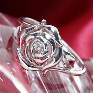 独特の上品 K10 ローズダイヤリング 指輪 17号, エムディスク 0bff008e
