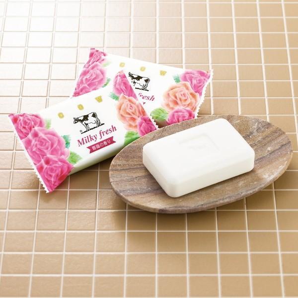 プレゼント ギフト 牛乳石鹸 ミルキィフレッシュソープセット wochigochi 02