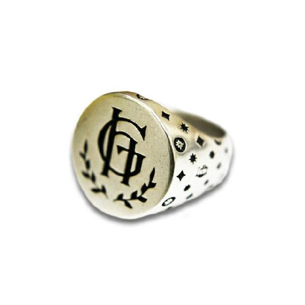 【完売】  GLAD GLAD Crest HAND/グラッドハンド「Family Crest Ring/ファミリークレストリング」送料・き手数料無料対応(GANGSTERVILL, cotton chips:c40db5e8 --- airmodconsu.dominiotemporario.com