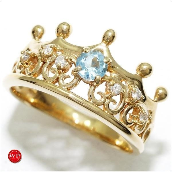 【予約販売品】 リング ブルートパーズ K18 18金 YG イエローゴールド ダイヤ 11.5号 ブルートパーズ 11.5号 ダイヤ 0.06, SANPO CREATE:79e73c1b --- airmodconsu.dominiotemporario.com