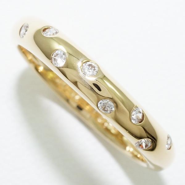 驚きの値段 リング K18 18金 YG イエローゴールド 7.5号 ダイヤ, 大きな取引 46de4be7