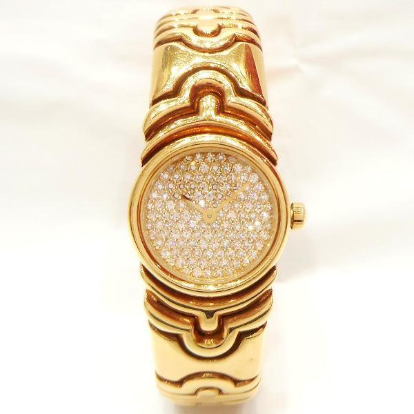 【ふるさと割】 時計 ブルガリ BVLGARI パレンテシ レディース腕時計K18YG ダイヤBJ01 【】【あすつく】, 佐伯区 23ee4fbd