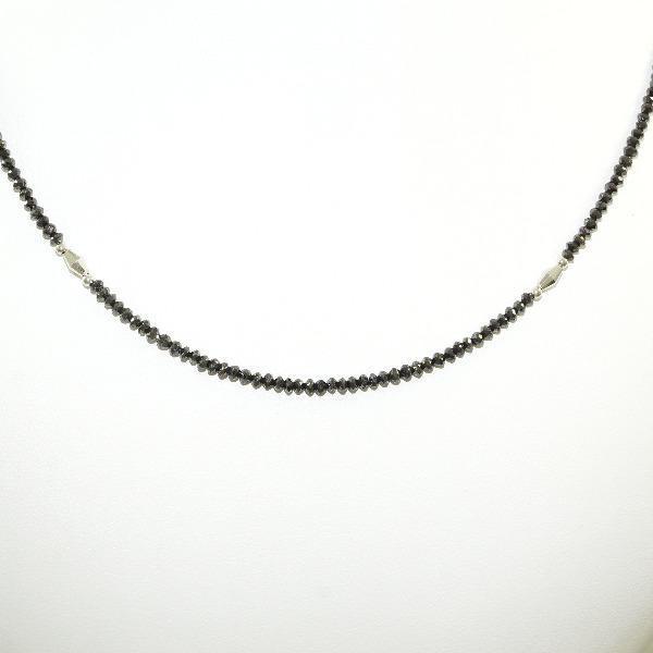激安価格の ネックレス K18 18金 WG ホワイトゴールド ブラックダイヤ 14.00, きもの舞姫 a00f44f1