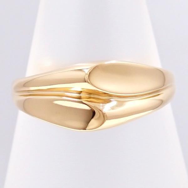 楽天 リング K18 18金 YG イエローゴールド 12号 地金, 天使の指輪 95080347