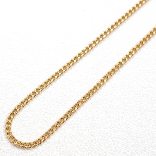 高価値セリー ネックレス K18 18金 YG イエローゴールド 地金 約3.7g 約40cm 喜平 キヘイ 2面, マツカワマチ b7bfaf8e