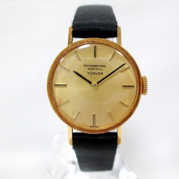 【おしゃれ】 IWC チューラー 時計 腕時計 レディース 手巻き K18 【】【あすつく】, タコマチ a37feb10