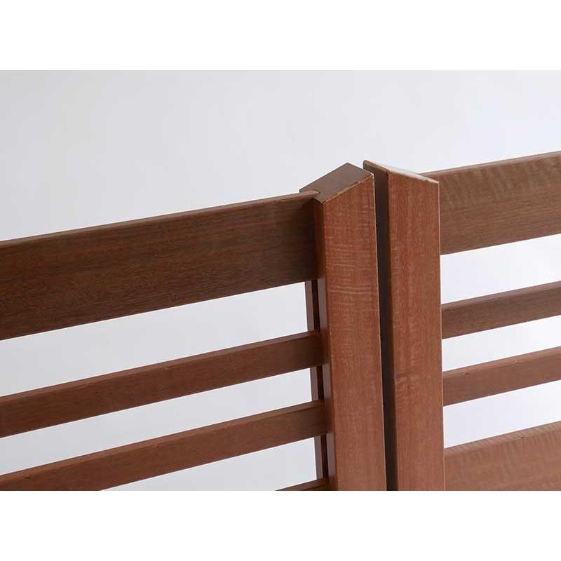 デッキ用手摺ウリン(独立タイプ) 簡単設置 後付け可能 wood 04