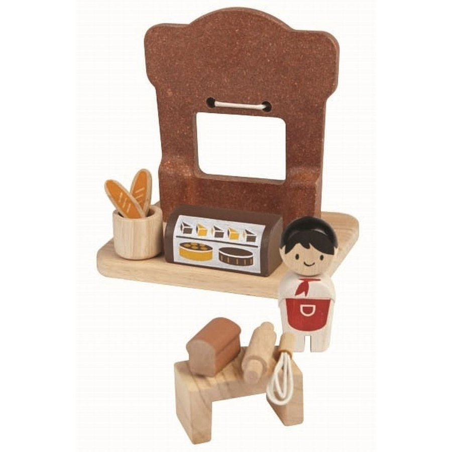 木のおもちゃ プラントイジャパンPLANTOYS 木製おままごと ベーカリー6615|woodayice|02