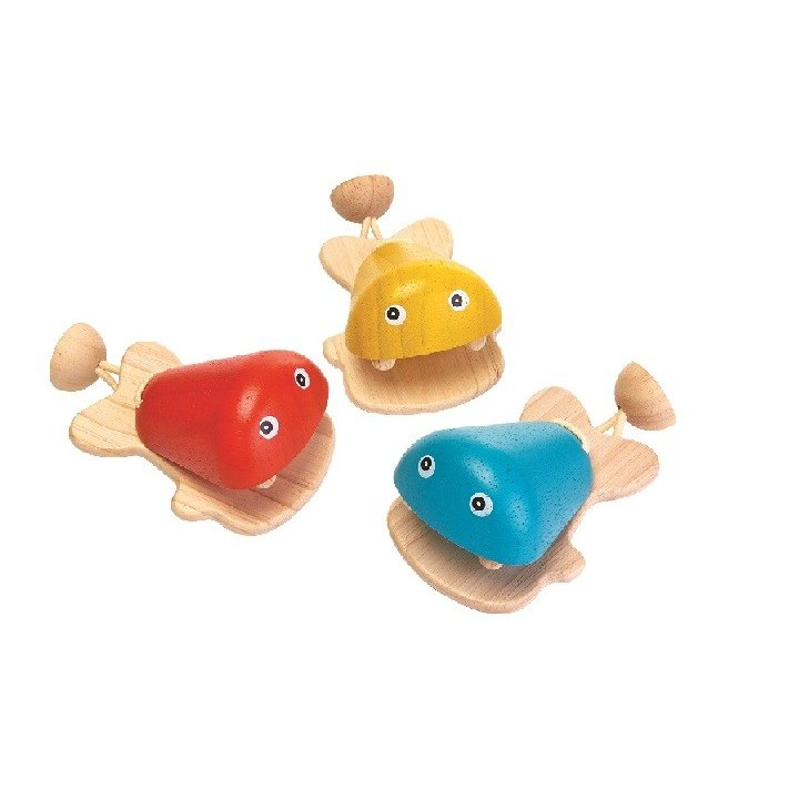 木のおもちゃ プラントイジャパンPLANTOYS 木製 知育玩具 おさかなカスタII|woodayice