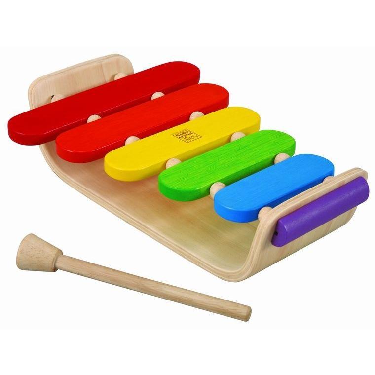 木のおもちゃ プラントイジャパンPLANTOYS 木製楽器 オーバルシロフォン6405|woodayice|06