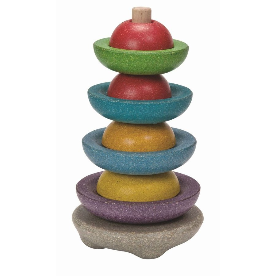 木のおもちゃ プラントイジャパンPLANTOYS 木製知育玩具 スタッキングリングII5615|woodayice|05