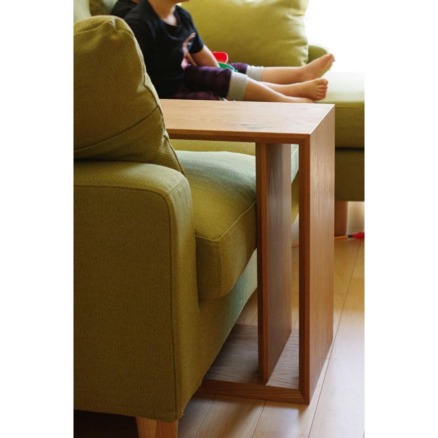 サイドテーブル 無垢材 おしゃれ 木製 ローテーブル オーダー