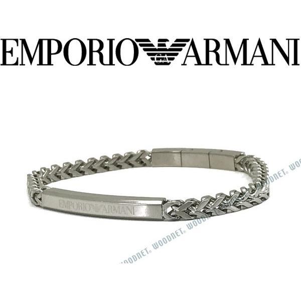 素敵な EMPORIO ARMANI ARMANI ブレスレット エンポリオアルマーニ ブレスレット EGS2416040 シルバー EGS2416040, 品川区:c0a83364 --- airmodconsu.dominiotemporario.com