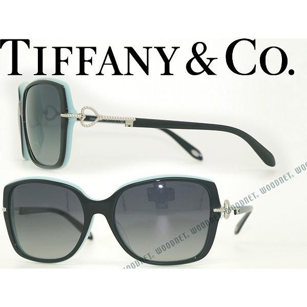 【期間限定お試し価格】 Tiffany& 偏光レンズ Co. ティファニー& Co. サングラス TF4101F-8055T3 グラデーションブラック 偏光レンズ, paliocollection:871c230d --- grafis.com.tr