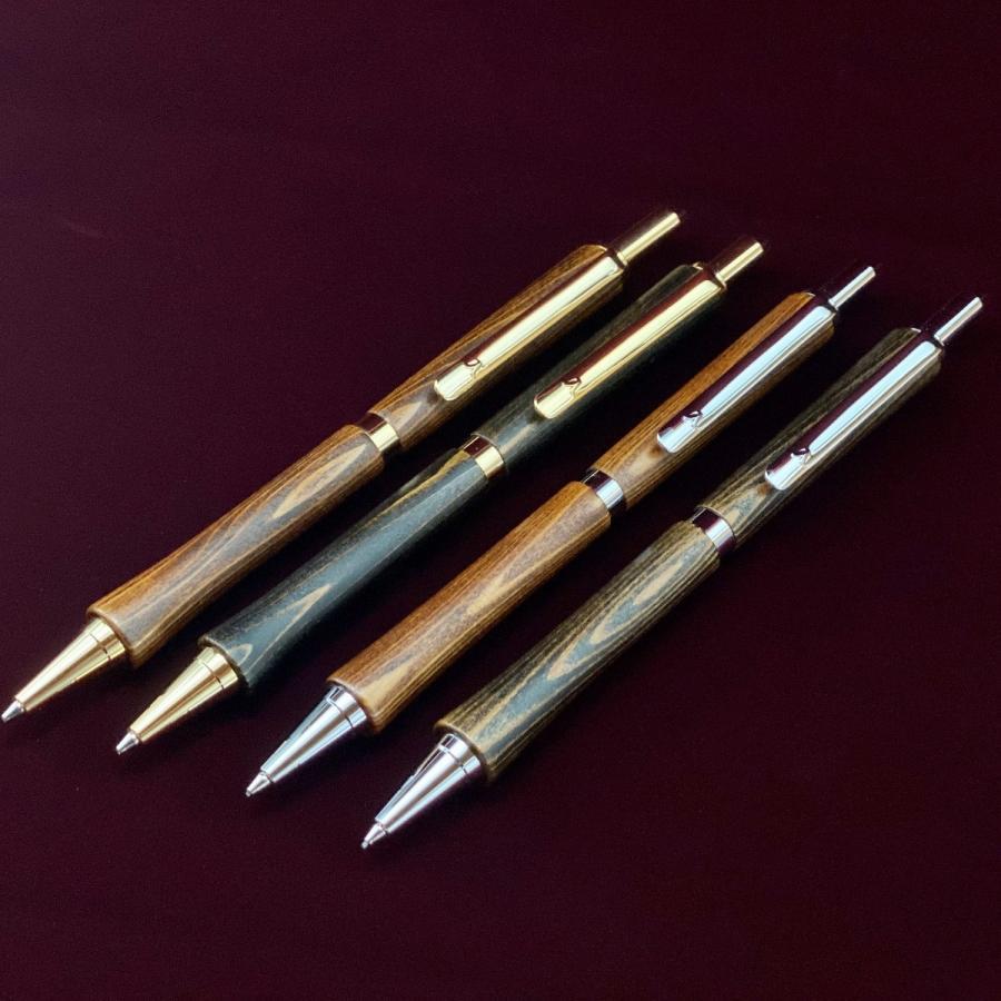 「天然抗菌 漆塗りシャーペン」日本の職人が丹精込めて屋久杉の木軸に漆を組み合わせたペンを手作っています。|woodpencraft|13