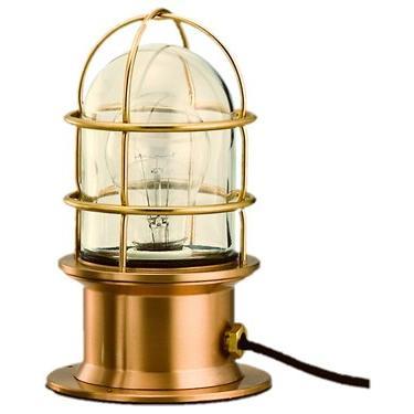 松本船舶 マリンランプ ネオデッキ ゴールド LED球付(RNE-DK-G)|woody-koubou