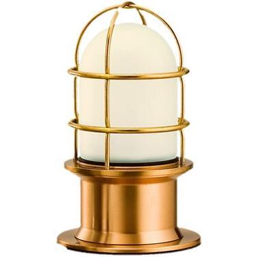 松本船舶 マリンランプ プレミアデッキ ゴールド LED球付(RPR-DK-G)|woody-koubou