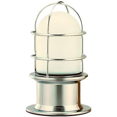 松本船舶 マリンランプ プレミアデッキ シルバー LED球付(RPR-DK-S) woody-koubou