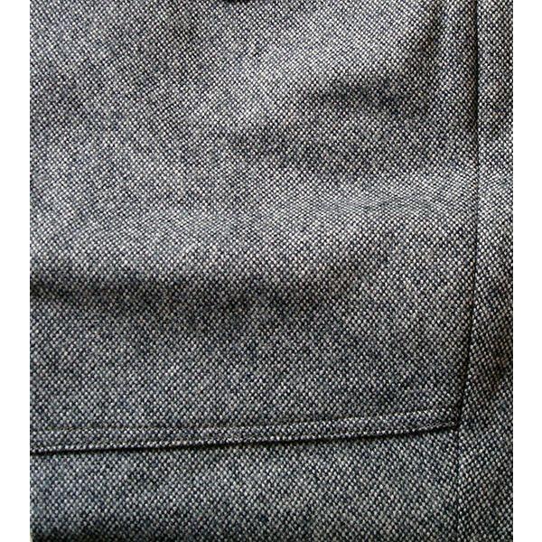 送料無料 1410番ウールツイード登山用レディースニッカ 股下45cm  霜降りグレー|woodytail|06