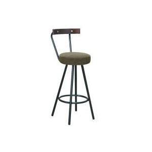 カウンターチェア ダークブラウン/ブラック 日本製 完成品 ( バーチェア カウンターチェアー モダンチェア 椅子 チェア チェアー イス いす 伸縮 高さ調整 )