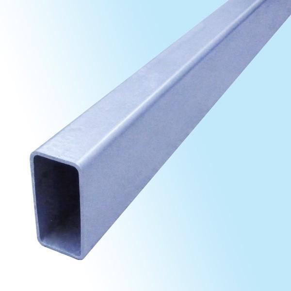 亜鉛メッキ角パイプ(長方形) 150mm×75mm×6mm (R付) 2m カット販売