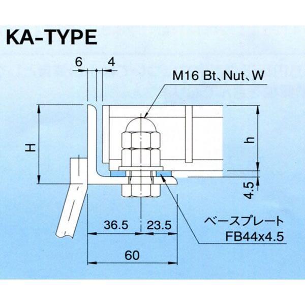 グレーチング T-20 600×600 受枠 (KA) ますぶた (固定式) NFA65N-66B用