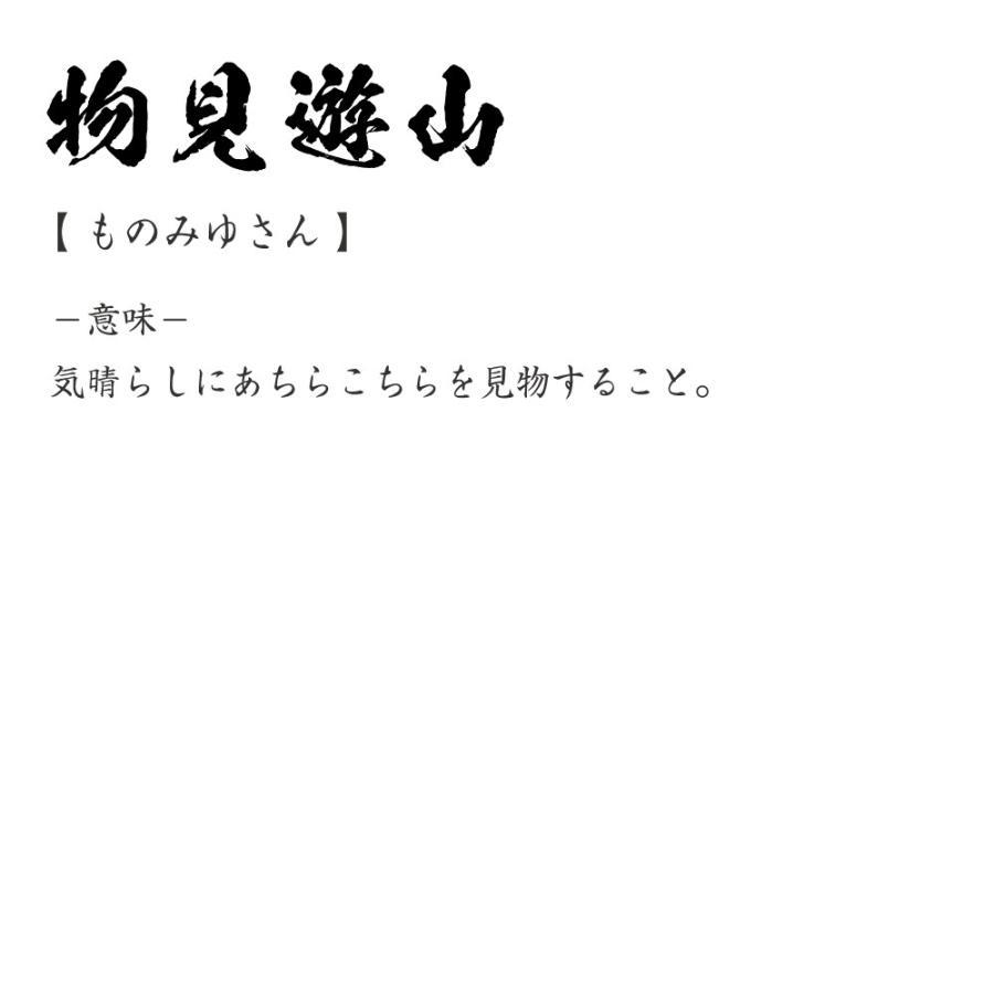 物見遊山 (ものみゆさん) オリジナル Tシャツ 書道家が書く プリント T ...