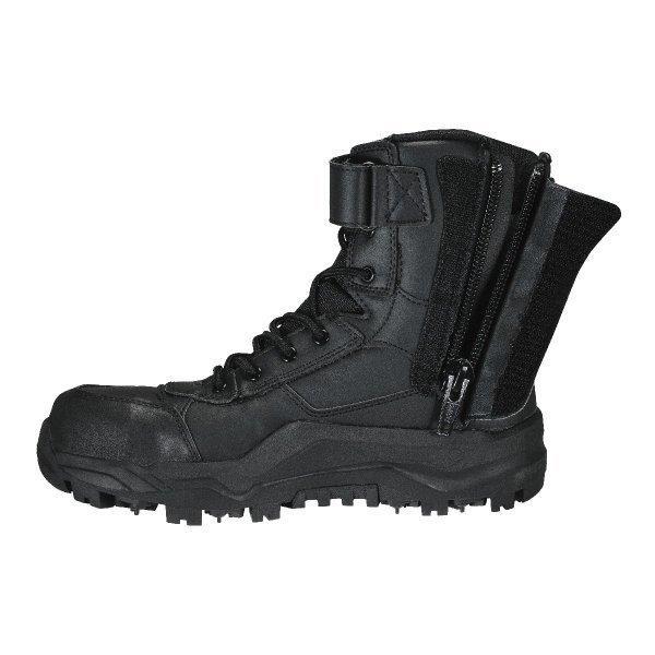 安全靴 作業靴 マジカルセーフティ アウトドア 山林 サバゲー ゴムピン ブーツ  丸五 #707 workway 05