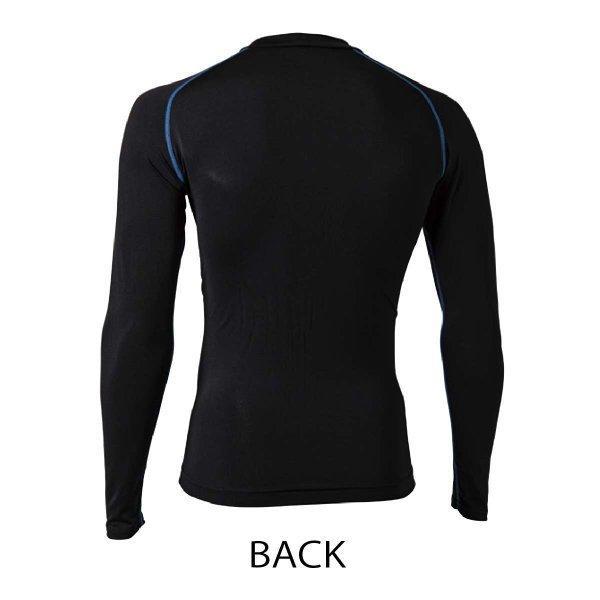 コンプレッション 加圧シャツ 寒暖両用 インナー オールシーズン 年間 アウトラスト おたふく手袋 JW-540|workway|04