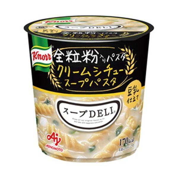 (まとめ)味の素 クノール スープDELI クリームシチュースープパスタ 1箱(6個)〔×5セット〕