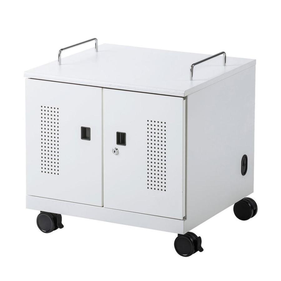 送料無料 サンワサプライ ノートパソコン収納キャビネット(6台収納) CAI-CAB105W CAI-CAB105W
