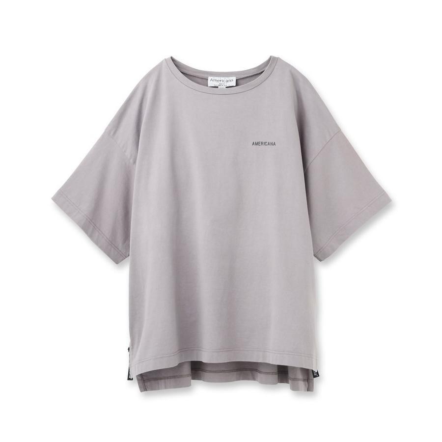 【楽天カード分割】 aquagirl(アクアガール)◆【WEB限定カラー】Americana サイドジップビッグTシャツ, 小山町 1a0baaa1