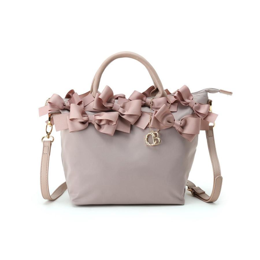 Couture Brooch 待望 クチュールブローチ メニーリボンナイロントート 数量限定アウトレット最安価格 メニーリボンシリーズ