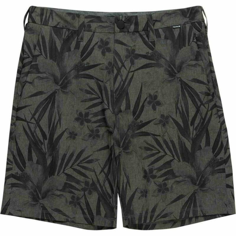 水着 スイミング ハーレー メンズ 黒 Hurley Men's Phantom Flex Garden 18 Hybrid Board Walk Shorts