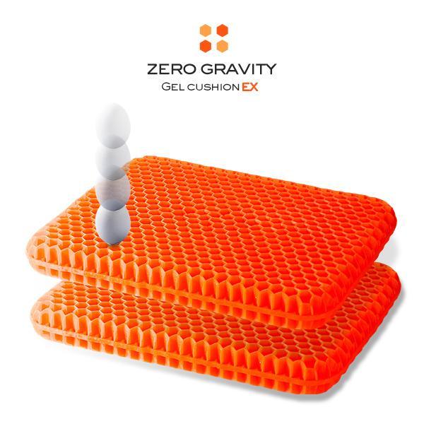 無重力クッション ジェルクッション カバー付き ゲルクッション 特大 ハニカム構造 腰痛 ハニカム クッション 椅子 EX
