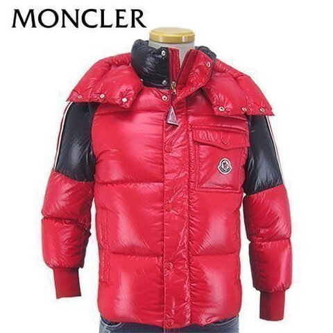 FINAL CLEARANCE/モンクレール/MONCLER Jr ボーイズ ダウンジャケット SIGEAN 4131405 68950/レッド/455/セール/19AW