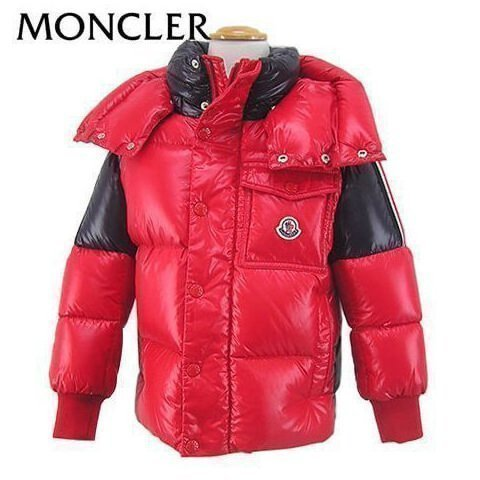 FINAL CLEARANCE/モンクレール/MONCLER KIDS ボーイズ ダウンジャケット SIGEAN 4131405 68950 K/レッド/455/セール/19AW