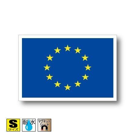 EUヨーロッパ連合・欧州連合旗マグネット Sサイズ 5×7.5cm 磁石 ...