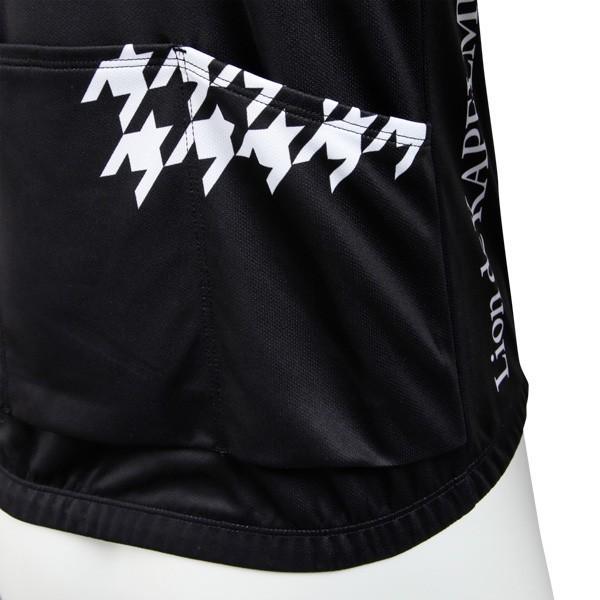 リオン・ド・カペルミュール 長袖ジャージ 千鳥チップ ブラック worldcycle-wh 05